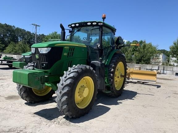 2018 John Deere 6215R Tractor - Row Crop For Sale