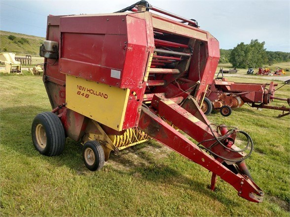 1987 New Holland 848 Baler-Round For Sale