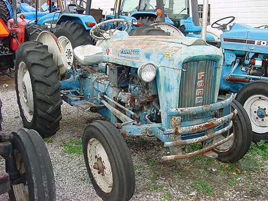 1962 Ford 2000 Tractor For Sale