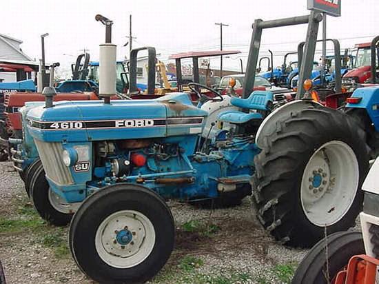 1986 Ford 4610SU Tractor For Sale