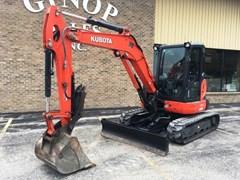 Excavator-Track For Sale 2014 Kubota U55-4R3A