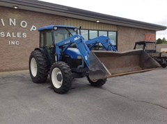 Tractor For Sale 2001 New Holland TN75D , 75 HP