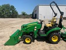 Tractor - Compact Utility For Sale:  2020 John Deere 1025R , 25 HP