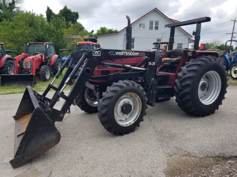 2002 Case IH C80 R4L Tractor For Sale