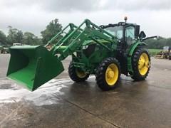 Tractor - Row Crop For Sale 2015 John Deere 6195R , 195 HP
