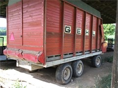 Forage Box-Wagon Mounted For Sale Gehl 960