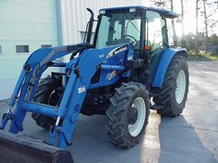 Tractor - Utility For Sale 2006 New Holland TL90A , 90 HP