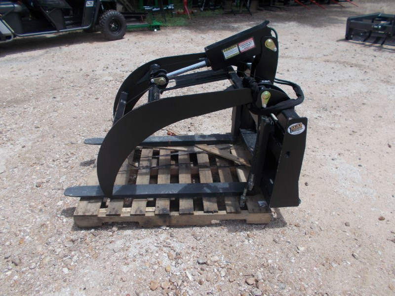 Tar River New Heavy Duty Pallet Fork Grapple Skid Steer Attachment For Sale