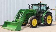 Tractor - Row Crop For Sale 2020 John Deere 6155R , 155 HP