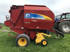 Baler-Round For Sale 2008 New Holland BR7060