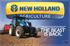 Tractor For Sale 2021 New Holland T6.160 , 165 HP