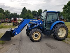 Tractor For Sale 2015 New Holland T4.75 C4L , 75 HP