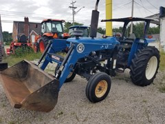 Tractor For Sale 1996 New Holland 5610S R2L , 66 HP
