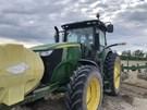 Tractor - Row Crop For Sale:  2018 John Deere 7210R , 210 HP