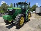 Tractor - Row Crop For Sale:  2018 John Deere 6215R , 215 HP