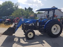 Tractor For Sale 2002 New Holland TN75 R2L , 75 HP