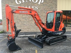 Excavator-Mini For Sale 2011 Kubota KX121