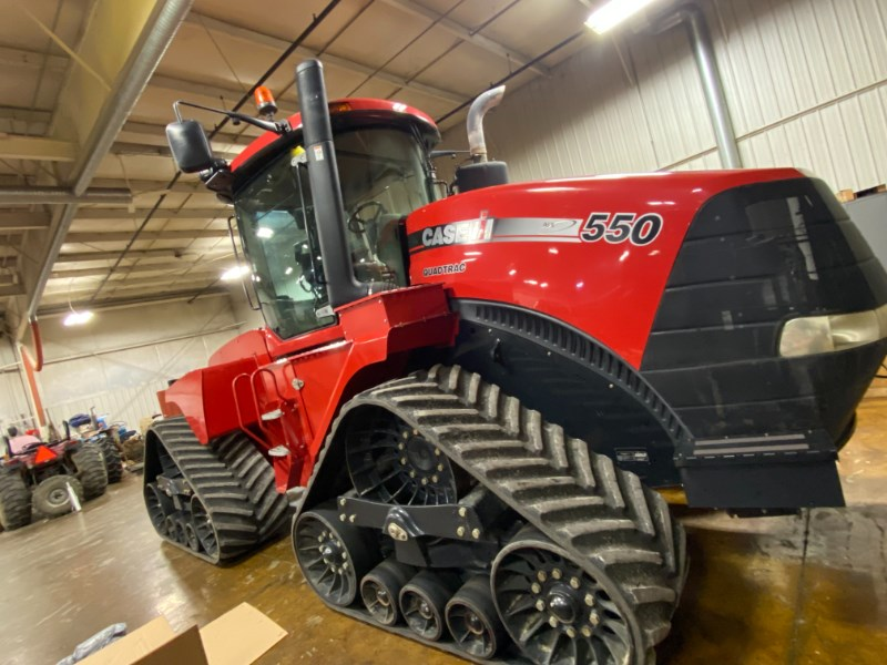 2013 Case IH Steiger 550Q Tractor For Sale