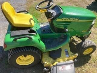 2002 John Deere X475 Riding Mower For Sale