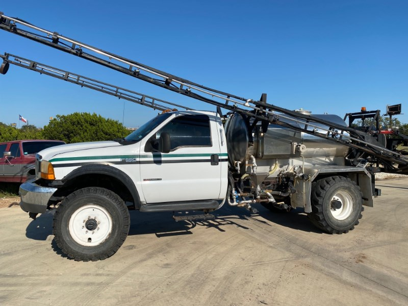 2000 Precision Ford F550 Floater/High Clearance Spreader For Sale