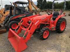 Tractor - Compact Utility For Sale 2016 Kubota L2501D , 24 HP