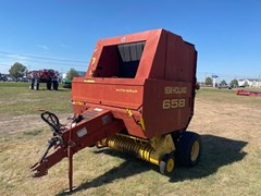 Baler-Round For Sale 1999 New Holland 658