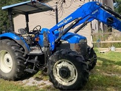 Tractor For Sale 2010 New Holland TD75D , 72 HP