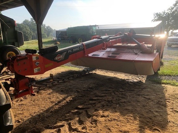 2018 Kuhn FC3560TCD Mower Conditioner For Sale