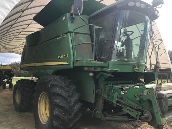 2011 John Deere 9670 STS Combine For Sale