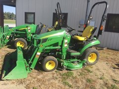 Tractor - Compact Utility For Sale:  2015 John Deere 1025R , 25 HP