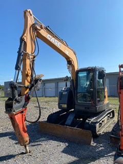 Excavator-Mini For Sale Case CX75Csr , 55 HP