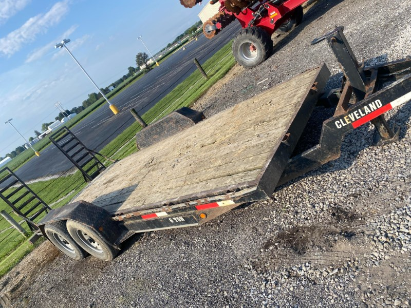 Cleveland 6 Ton Equipment Trailer For Sale
