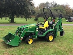 Tractor - Compact Utility For Sale 2017 John Deere 1025R TLB , 25 HP