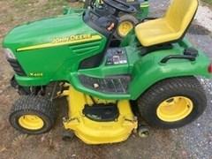 Riding Mower For Sale:  2002 John Deere X465 , 21 HP