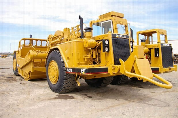 1984 Caterpillar 627B Scraper-Self Propelled For Sale