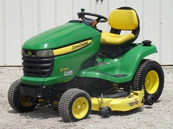 2008 John Deere X360 Riding Mower For Sale