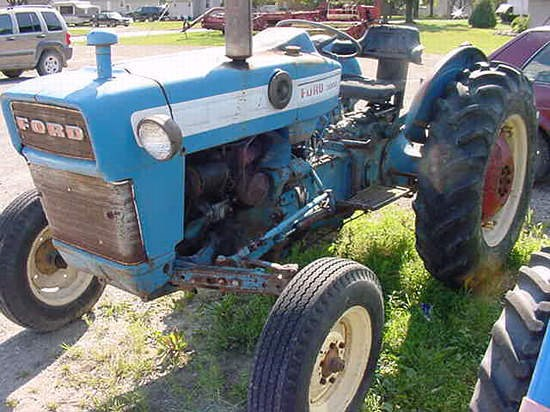 1965 Ford 3000 Tractor : Equipment detail flint new holland inc mi