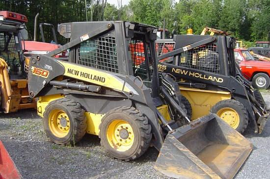 2007 New Holland L160 Skid Steer For Sale