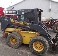 Skid Steer For Sale 2002 New Holland LS180 , 63 HP