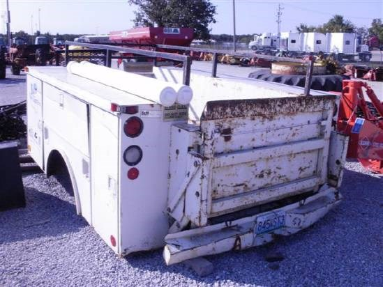 Enclosed Bed Google Search: Monroe Truck Equipment UTILITY BED Misc. Truck For Sale