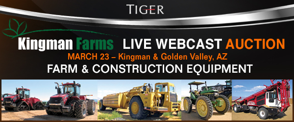 Kingman Farms Live Webcast Auction March 23, 2017