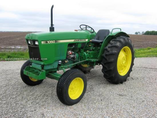 John Deere 1050 Tractor Seat : John deere tractor for sale at equipmentlocator
