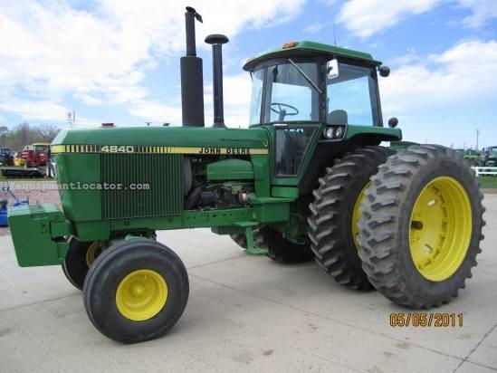John Deere 4840 : John deere tractor for sale at equipmentlocator