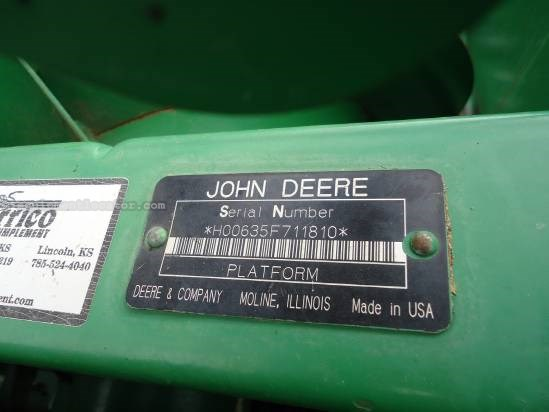 2005 John Deere 635 Header-Flex For Sale