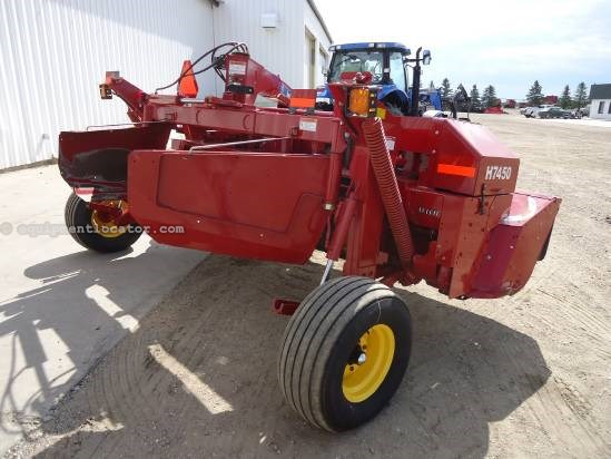 2009 New Holland H7450 Mower Conditioner For Sale