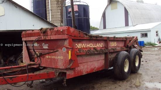 2000 New Holland 195 Manure Spreader-Dry/Pull Type For Sale