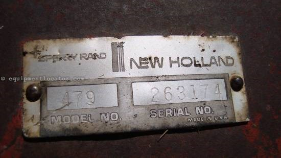 NULL New Holland 479 Mower Conditioner For Sale