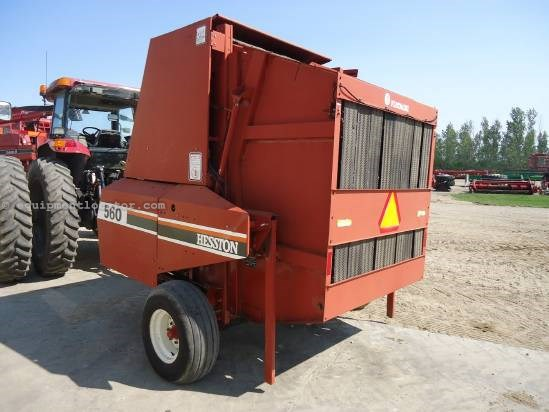 1989 Hesston 560 Baler-Round For Sale