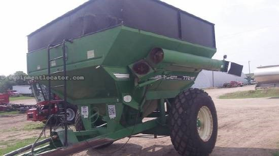 1991 Brent 772 Grain Cart For Sale