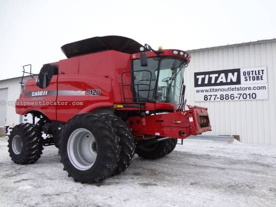 2009 Case IH 8120 Combine For Sale